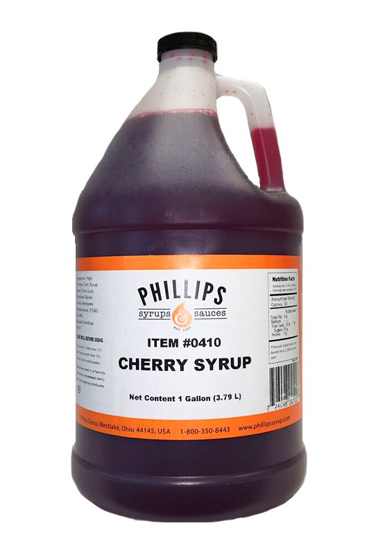 410 cherry syrup phillips syrups starting at 9 99
